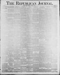 Republican Journal: Vol. 60, No. 42 - October 18,1888