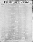 Republican Journal: Vol. 60, No. 52 - December 27,1888