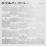 Republican Journal: Vol. 63, No. 35 - August 27,1891