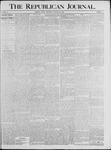 Republican Journal: Vol. 64, No. 4 - January 28,1892