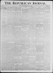 Republican Journal: Vol. 64, No. 13 - March 31,1892