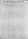 Republican Journal: Vol. 68, No. 1 - January 02,1896