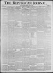 Republican Journal: Vol. 68, No. 15 - April 09,1896