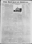 Republican Journal: Vol. 68, No. 33 - August 13,1896
