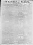 Republican Journal: Vol. 68, No. 35 - August 27,1896
