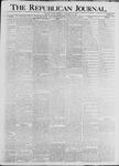 Republican Journal: Vol. 68, No. 37 - September 10,1896
