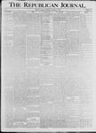 Republican Journal: Vol. 68, No. 42 - October 15,1896