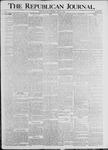 The Republican Journal: Vol. 70, No. 29 - July 21,1898