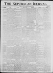 The Republican Journal: Vol. 70, No. 41 - October 13,1898