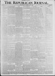 The Republican Journal: Vol. 71, No. 29 - July 20,1899