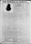 The Republican Journal: Vol. 72, No. 35 - August 30,1900