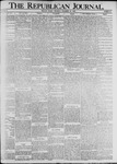 The Republican Journal: Vol. 72, No. 51 - December 20,1900