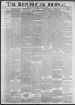 The Republican Journal: Vol. 73, No. 5 - January 30,1901