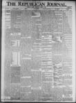 The Republican Journal: Vol. 73, No. 14 - April 04,1901