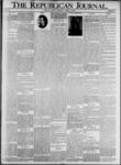 The Republican Journal: Vol. 73, No. 17 - April 25,1901