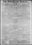 The Republican Journal: Vol. 73, No. 20 - May 16,1901