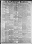 The Republican Journal: Vol. 73, No. 21 - May 23,1901