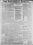 The Republican Journal: Vol. 73, No. 22 - May 30,1901