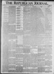 The Republican Journal: Vol. 73, No. 29 - July 18,1901