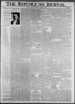 The Republican Journal: Vol. 73, No. 34 - August 22,1901