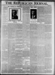 The Republican Journal: Vol. 73, No. 38 - September 19,1901
