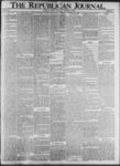 The Republican Journal: Vol. 73, No. 40 - October 03,1901