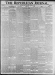 The Republican Journal: Vol. 73, No. 42 - October 17,1901