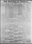 The Republican Journal: Vol. 73, No. 43 - October 24,1901