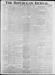 The Republican Journal: Vol. 74, No. 16 - April 17,1902