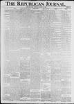 The Republican Journal: Vol. 74, No. 42 - October 16,1902