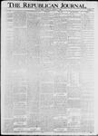 The Republican Journal: Vol. 74, No. 44 - October 30,1902