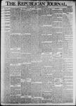 The Republican Journal: Vol. 74, No. 52 - December 25,1902
