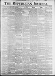 The Republican Journal: Vol. 79, No. 32 - August 08,1907