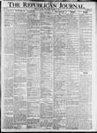 The Republican Journal: Vol. 79, No. 40 - October 03,1907