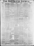 The Republican Journal: Vol. 82, No. 13 - March 31,1910