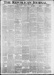 The Republican Journal: Vol. 82, No. 16 - April 21,1910