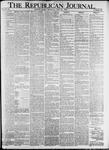 The Republican Journal: Vol. 82, No. 25 - June 23,1910