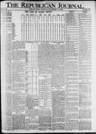 The Republican Journal: Vol. 82, No. 37 - September 15,1910