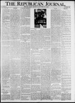 The Republican Journal Vol. 87, No. 43 - October 28,1915