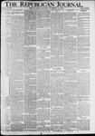 The Republican Journal: Vol. 90, No. 46 - November 14,1918
