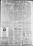 The Republican Journal: Vol. 93, No. 39 - September 29,1921