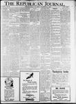 The Republican Journal: Vol. 93, No. 46 - November 17,1921
