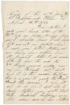 Letter to Mother, April 26, 1864 by Sylvester Baker