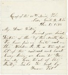 Letter to sister, December 15, 1864 by Sylvester Baker