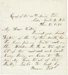 Letter to sister, December 15, 1864