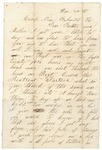Letter to Father and Mother, December 20, 1863