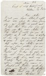 Letter to Mother from Rappahannock, Virginia, February 13, 1864