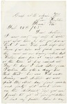 Letter to Mother from Hatcher's Run, February 28, 1865