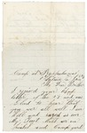 Letter to brother from Rappahannock, January 6, 1863