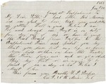 Letter to sister Helen, January 17, 1864 by Sylvester Baker